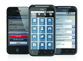 sugarCRM-mobile